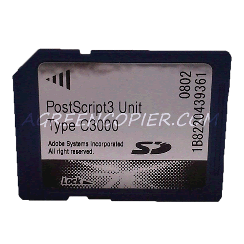 Ricoh PostScript 3 Unit type C3000 EDP Code 412879 Ricoh MP C2000 & MP C2500 & MP C3000 - Ricoh Carte PostScript 3 type C3000 EDP Code 412879 Ricoh MP C2000 & MP C2500 & MP C3000